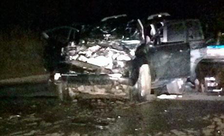 ВБерезниках Land Cruiser протаранил пассажирский автобус: погибло два человека