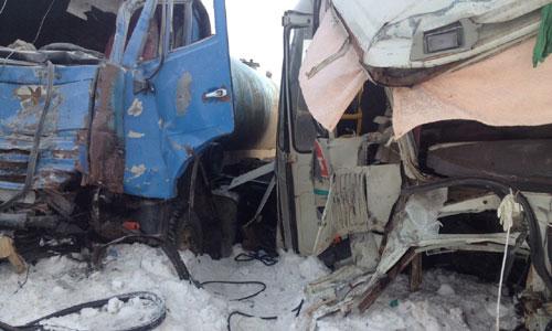 Три вахтовика «Лукойла» погибли вДТП под Чернушкой