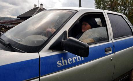 Пенсионерку вКудымкаре лишили прав из-за наклейки наавтомобиле