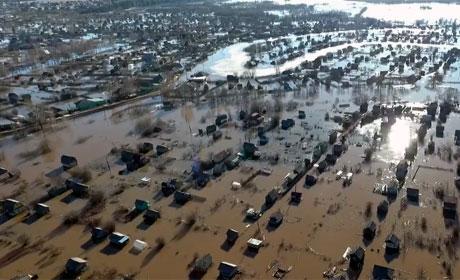 В Кудымкаре из-за паводка введен режим ЧС