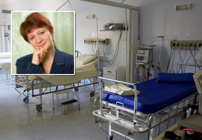 Пермская учительница, получившая 17 ножевых ранений, идет напоправку
