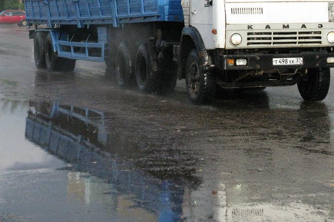 ВПерми «КАМАЗ» сбил женщину напешеходном переходе