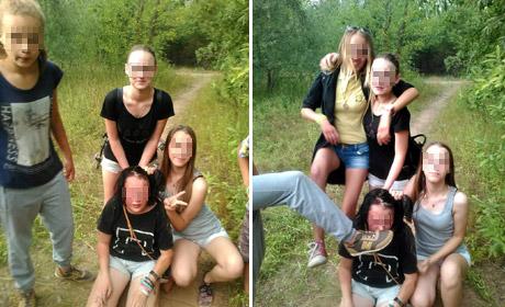 ВПрикамье школьницы выложили вСеть фото избиения сверстницы