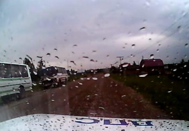 ВПрикамье работники ГИБДД задержали нетрезвого водителя автобуса