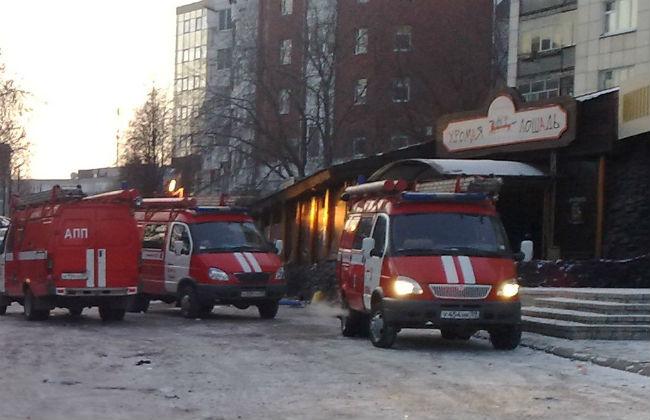 Вещи гостей сгоревшего кафе «Хромая лошадь» будут уничтожены