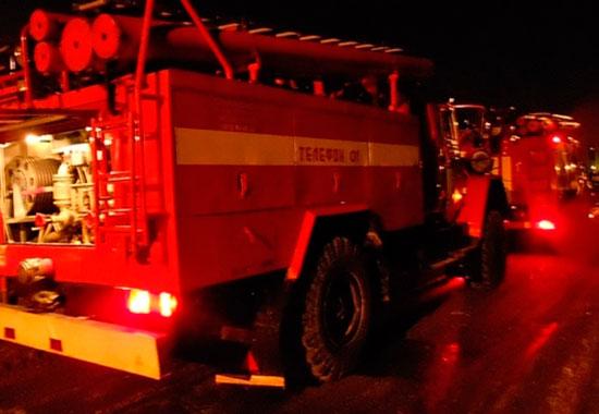 ВЛенинском районе Перми произошел пожар вжилом доме