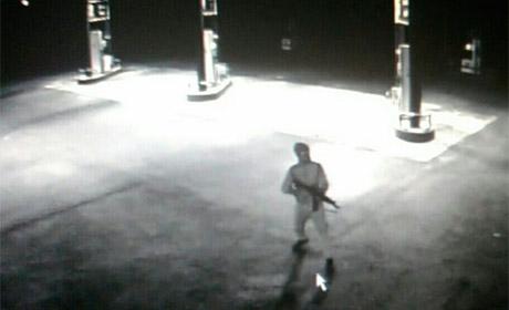 ВПрикамье задержали дебошира, стрелявшего изавтомата назаправке