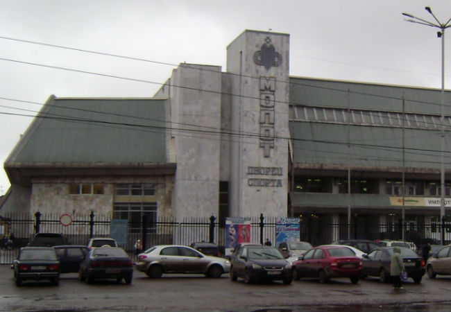 Дворец спорта «Молот» сдадут варенду краевым властям