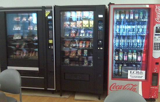 Напермском вокзале обокрали экспресс-автоматы скофе