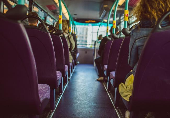 Автобус влетел востановку счеловеком вПерми