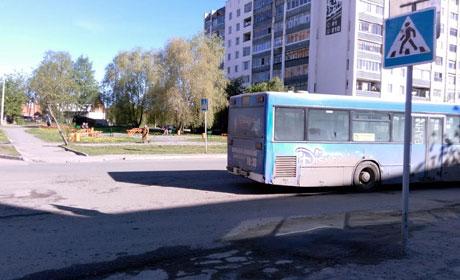По вине водителей автобусов с