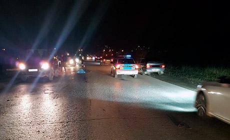 ВПерми шофёр насмерть сбил идущую среди дороги женщину