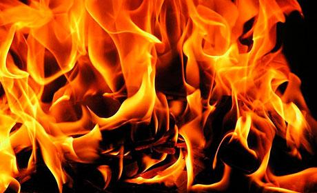 Впожаре вПрикамье спасли семилетнего ребенка