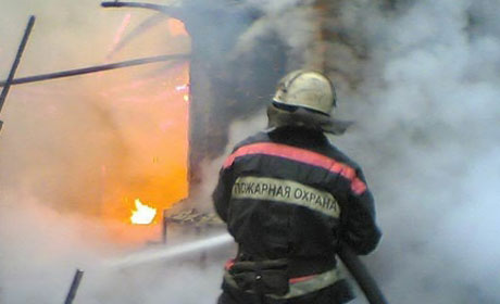 Три человека погибли напожаре вАлександровске