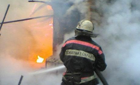 ВПрикамье женщина счетырьмя детьми чудом спаслась напожаре