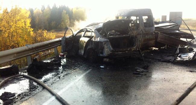 Массовое ДТП вПермском крае: из-за водителя кадилак погибли двое