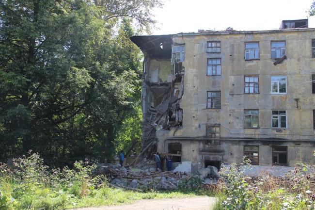ВПерми готовят ксносу ветхий дом наЛебедева, 14