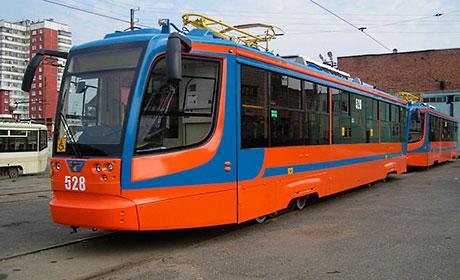 схема движения трамваев по