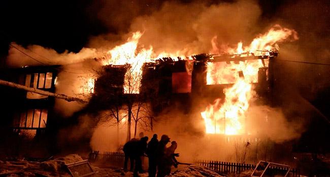 Напожаре вПермском крае погибли три человека