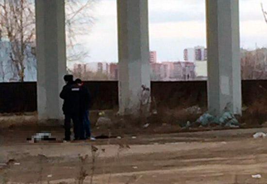Под мостом вПерми найден труп молодой женщины