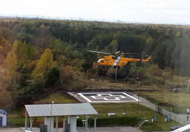 ВПерми заработала вертолетная площадка для санавиации