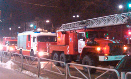 ВПерми ночной пожар оставил несколько семей без крова