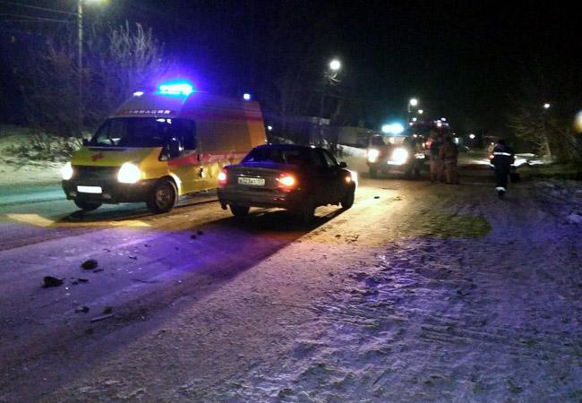 ВКунгуре автомобиль сбил пешехода