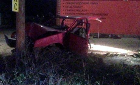 ВБерезниках ВАЗ разорвало пополам, умер человек